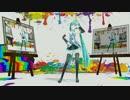 【MMD】魔女っ子ミクちゃん(カバー) - コロン式ミク【カメラ固定】
