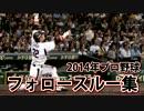 【プロ野球】2014年 バット投げ・フォロースルー集