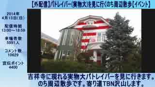 ハシケン 外配信_総集編 2014年04月10日~04月13日