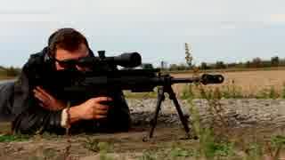 ハンガリー製対物ライフル ゲパード GM6 Lynx