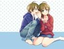 【耳かきボイス】妹弟の同時耳かき【お姉ちゃん専用】