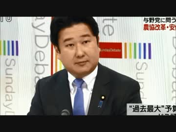 NHK日曜討論 次世代の党 和田政宗参議院議員 発言まとめ - ニコニコ動画