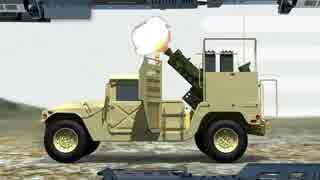 4×4車両に搭載可能 120ミリ自走迫撃砲システム「スピアー」