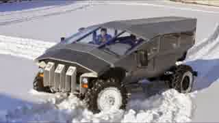 まるでSF ロシアの新型装甲車