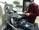 (ロックマン風)名探偵コナンのメインテーマにドラムをつけてみた!