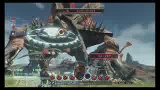 「XenobladeX」戦闘編を喋りながら見る
