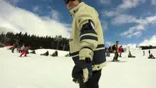 【スノボ】家族でスキージャム勝山をすべってきた