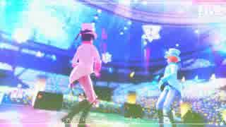 【APヘタリアMMD】 好き!雪!本気マジック 【アイランドルライブ2015】
