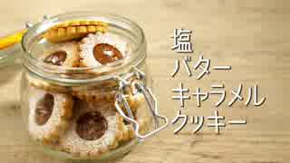 ASMR 塩バターキャラメルクッキー