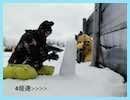 【mi-ya./ch】雪だるまで大好きなアレ作ってみた///@那須Mt.JINS