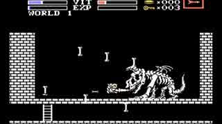 【TASさんの休日】魔城伝説2 ガリウスの迷宮【ノーダメージ】