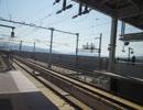 北陸新幹線E7系上越妙高駅通過