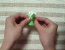 【ニコニコ動画】割り箸の袋で箸置き 犬を解析してみた
