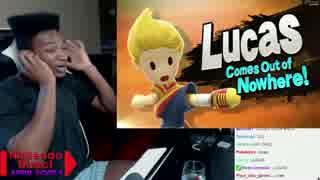 【スマブラ3DS・WiiU】超発表を見た例の外国人の反応(リュカパート)