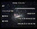 【ニコニコ動画】【修正版】光速の99.9999999999999999999%でイスカンダルを目指してみたを解析してみた