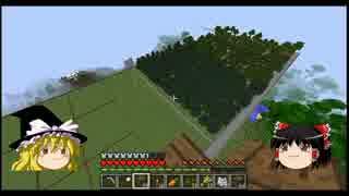 【Minecraft】 バニラでまったり空中都市を作る Part10 【ゆっくり実況】