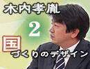 【無料】木内孝胤『国づくりのデザイン』#2 ゲスト:山下一仁(農協改革)