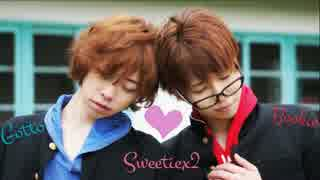 【ぶっきー&じおっと】Sweetie×2 +α  踊ってみた【ぶきじお】