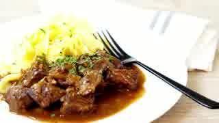 牛肉のビール煮 カルボナードフラマンド