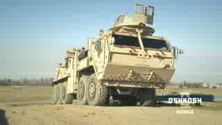 アメリカ製装甲回収車 Oshkosh MMRS