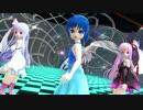 【MMD】スカイちゃん&琴葉姉妹でKosmos,Cosmos【スカイ・琴葉姉妹生誕祭】