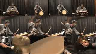 【和太鼓で】シドニアの騎士二期OP「騎士行進曲」【叩いてみたの】