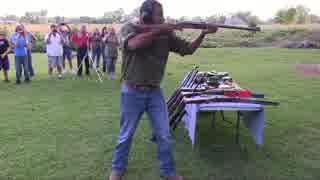 70口径(17.78mm)弾 vs 黒人男性