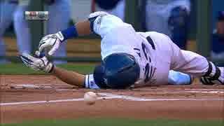 【MLB】痛さを声で表す「死球ソムリエ」青木の死球集
