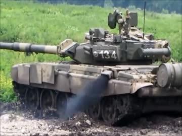 各国主力戦車エンジン音聞き比べ...