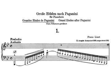 人気のパガニーニによる大練習曲...