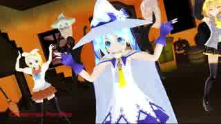 【MMD】Happy Halloweenを踊ってもらった【雪あぴミクさん達】