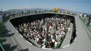 護衛艦いせのエレベーター動画(岩国寄港時)