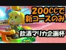 【実況】(高画質)マリオカート8飲酒杯(200CC新コース!)スナザメ視点01
