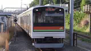 拝島駅(JR八高線)で昇降式ホーム柵と列車発着風景を撮ってみた