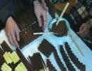 うまい棒でお菓子の家を作ってみた thumbnail
