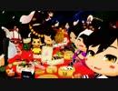 【MMD】まめ慶次と元親でハレバレ【MMD戦国BASARA】