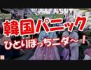 【ニコニコ動画】【韓国パニック】 ひとりぽっちニダ~!を解析してみた
