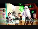 【ニコニコ動画】【MMD刀剣乱舞】メジェド切国広たちで45秒【モデル更新・配布】を解析してみた
