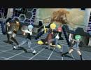 【ニコニコ動画】【MMD】進撃の暗殺教室 - エレン & 3年E組うた担 with 殺せんせー(LIVE Ver.)を解析してみた