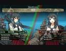 演習で阿賀野型対決MarkⅡ2nd