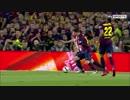 【ニコニコ動画】リオネル・メッシが30日の試合でぶっちぎりの4人抜きスーパーゴール!!を解析してみた