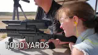 12歳の少女でも1000ヤードの狙撃ができる 自動照準ライフル