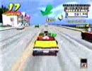 「[ゲーム]名作ドライブゲーム「クレイジータクシー」を堪能。」のイメージ