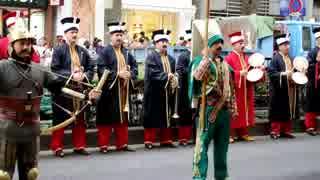 メフテル(トルコ軍楽隊)演奏