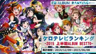 上半期アニソンランキング 2015 ALBUM BEST 70【ケロテレビ】