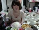 【ニコニコ動画】【まろにー】夕飯食べるとこ見てて【大食い】を解析してみた