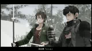 【刀剣乱舞】槍を振る、雪が降る【MMD寸劇】