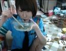 【ニコニコ動画】【まろにー】婦警コスでおつまみを食べる【大食い】を解析してみた