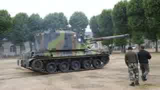 フランス製155mm自走榴弾砲 AMX-30 AuF1