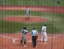 富山GRNサンダーバーズ 6年振りに現役復帰 タフィ・ローズ選手の打撃 thumbnail